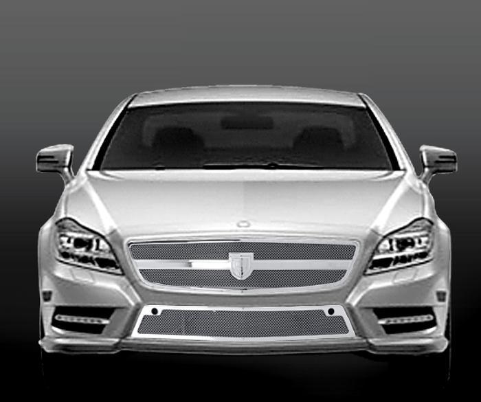 Asanti Grilles - 2010-2012 Mercedes CLS 550 Grille (Grille)