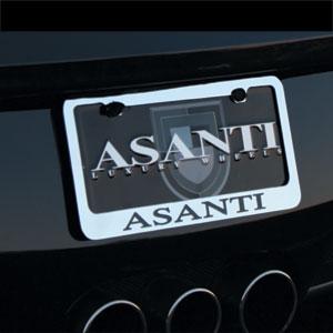 Asanti Plates - License Plate Frame
