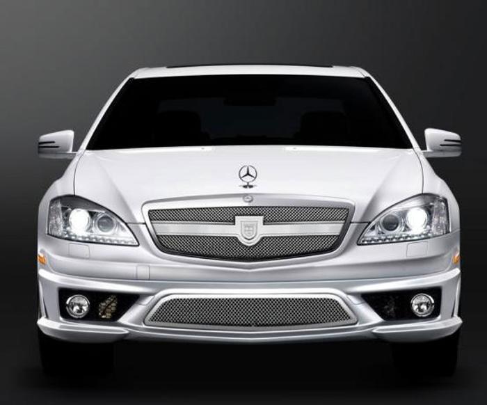 Asanti Grilles - 2007-2009 Mercedes S550 (Verona)