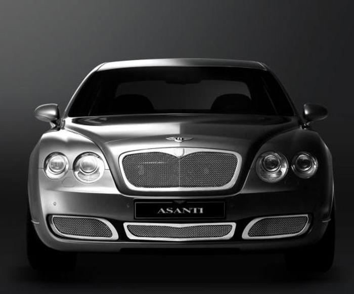 Asanti Grilles - 2004-2008 Bentley GT/GTC (Standard)