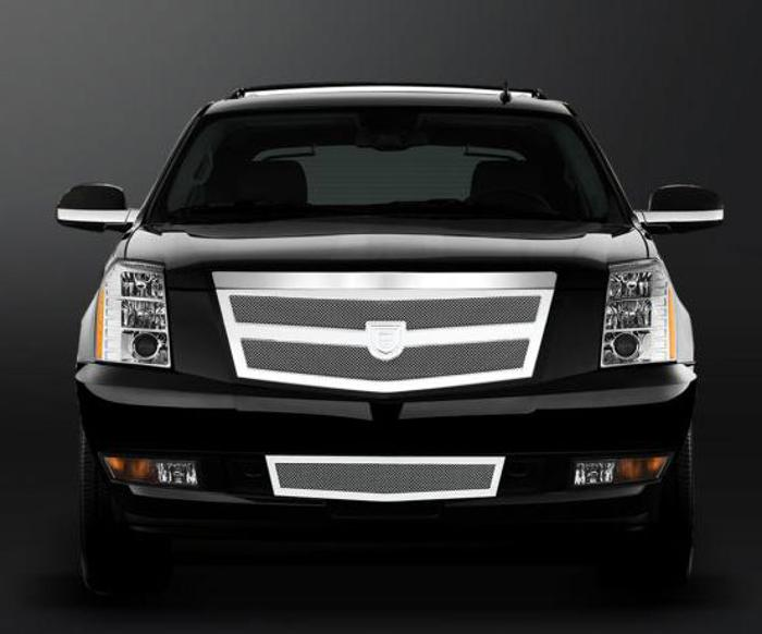 Asanti Grilles - 2007-2012 Cadillac Escalade (Verona Plat.)