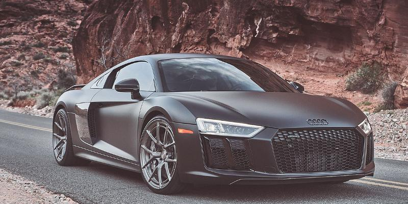 Audi R8 with 2018 Collection Monoblock 101