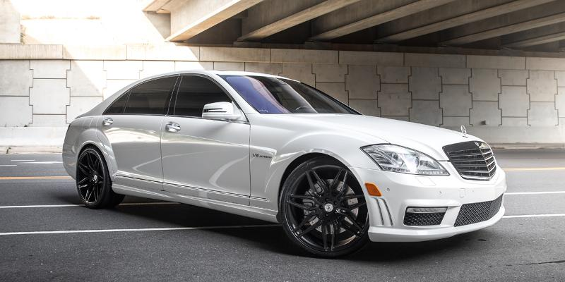 Mercedes-Benz S63 AMG with ABL-11