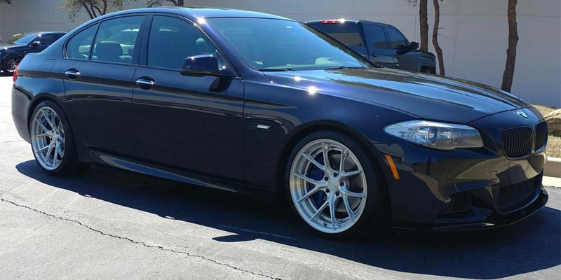 BMW 5-Series with Asanti Wheels TL101