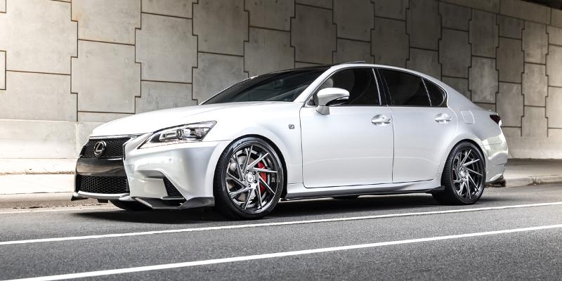 Lexus GS350 with TL Series TL104