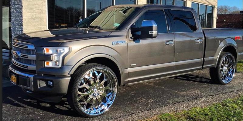 Ford F-150 with A/F Series AF821