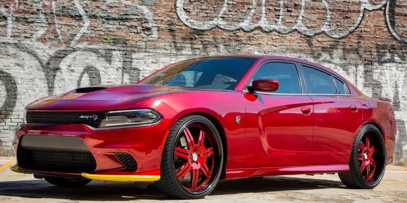 Dodge Charger with A/F Series AF146