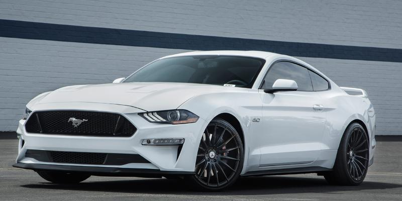 Ford Mustang with ABL-14