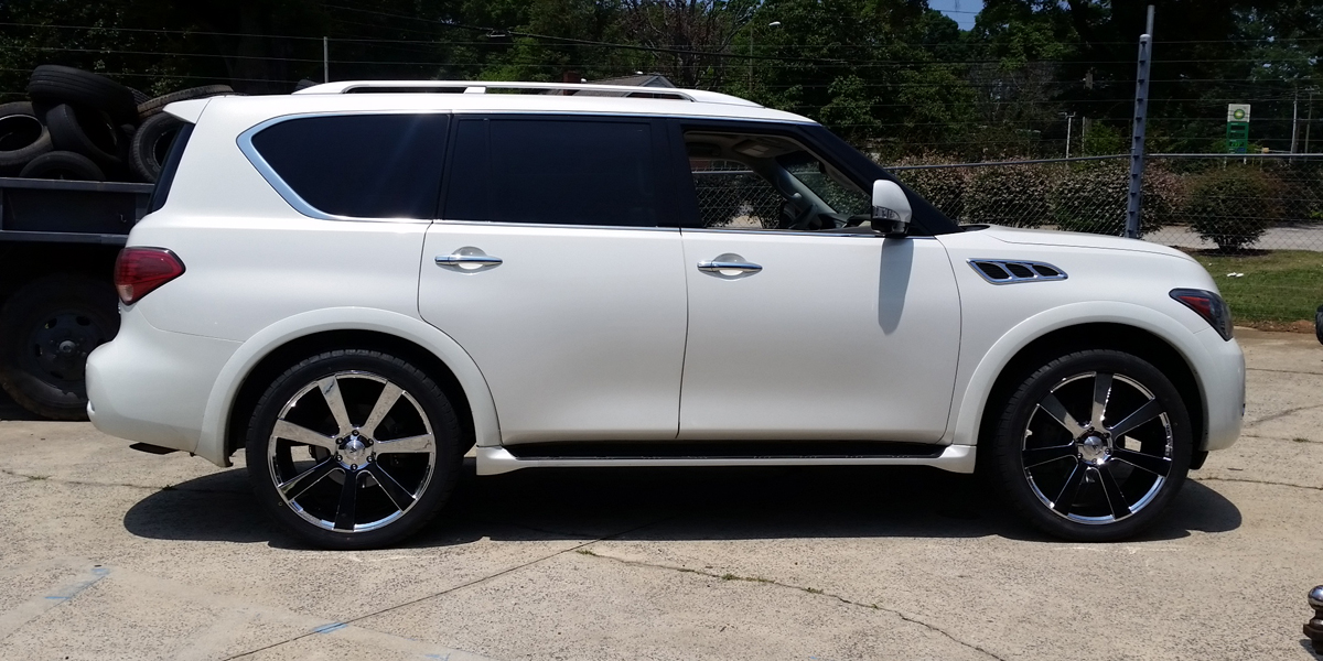 Infiniti QX56 with Asanti Black Label ABL-15