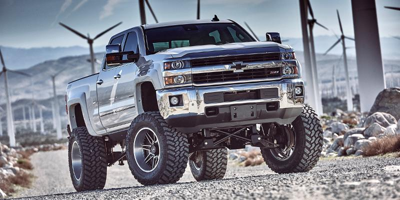 Chevrolet Silverado 2500 HD with AB-201