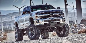 Chevrolet Silverado 2500 HD with Asanti Off-Road AB201
