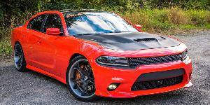 Dodge Charger with Asanti Wheels CX173