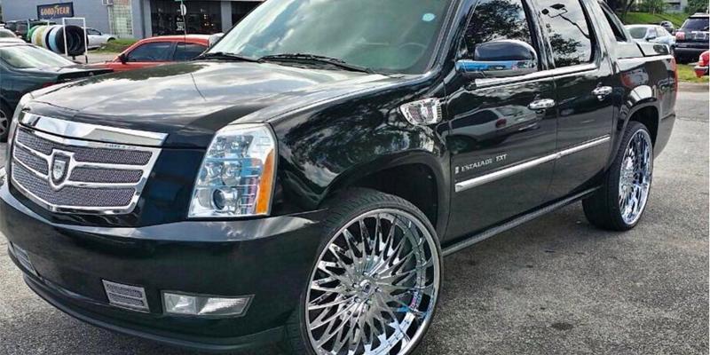 Cadillac Escalade EXT with C/X Concave CX828