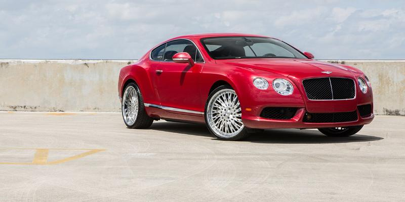 Bentley Continental with FS Series FS14