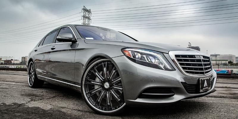 Mercedes-Benz S550 with V/A Five Axis VF606