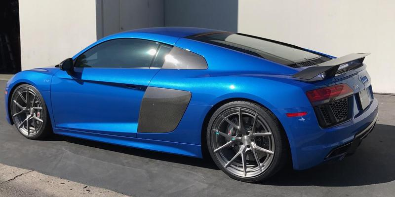 Audi R8 with TL Series TL101