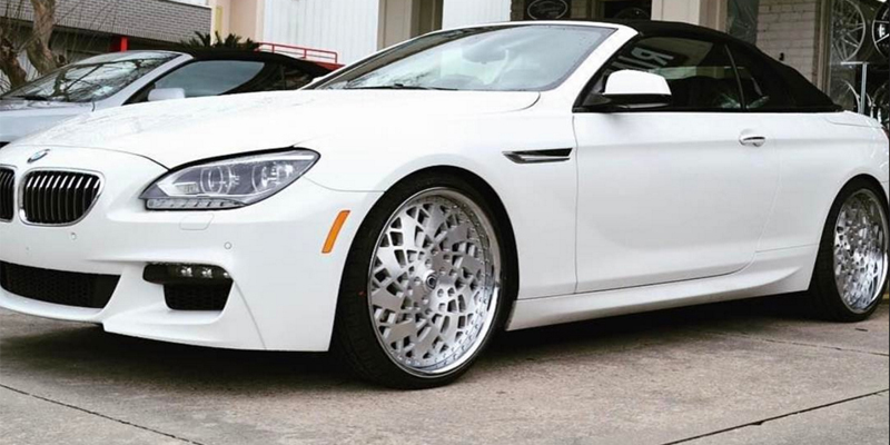 BMW 6-Series Convertible with Asanti Wheels FS01