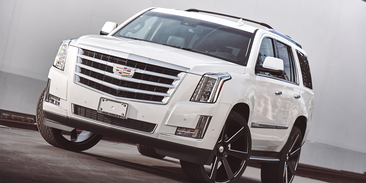 Cadillac Escalade with Asanti Black Label ABL-15