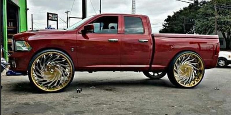 Dodge Ram 1500 with 830