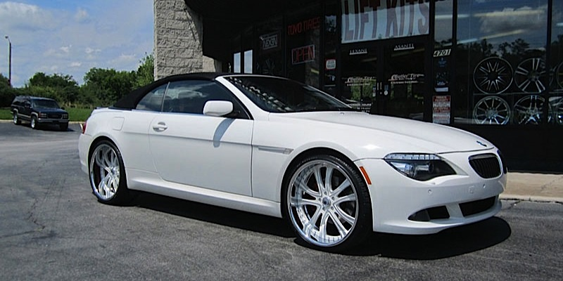 Bmw 6 Series Convertible Da159 Gallery Asanti Wheels