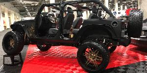 Jeep Wrangler with Asanti Off-Road AB-200