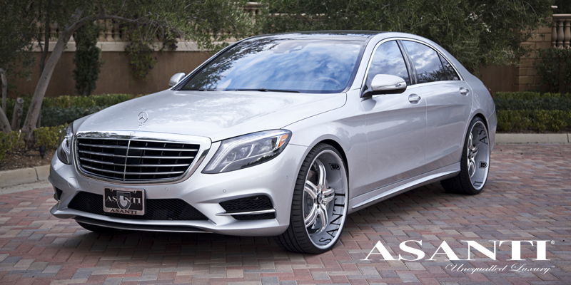Mercedes benz s550 gallery asanti wheels for Mercedes benz s550 rims