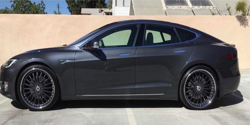 Tesla S with A/F Series AF122
