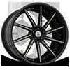 CX853 in Black w/ Gold Accents
