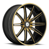 CX811 in Gold and Black with Black Lip